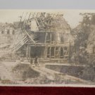 WWII Real Photo Postcard of a Destroyed Building