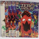 Zero Hour Crisis In Time # 1 - # 4 1994 DC Comics Comic Book