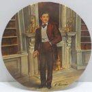 1981 Collector Plate Rhett Butler by Raymond Kursar Bradford Exchange