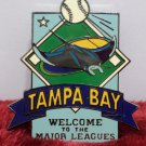 1995 Collector Pin Tampa Bay Welcome to the Major Leagues
