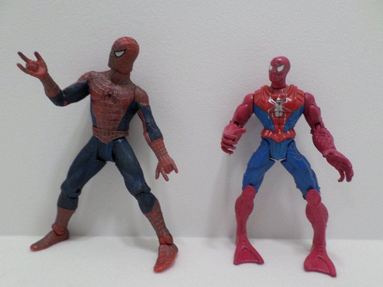 Spiderman Action Figures by Marvel