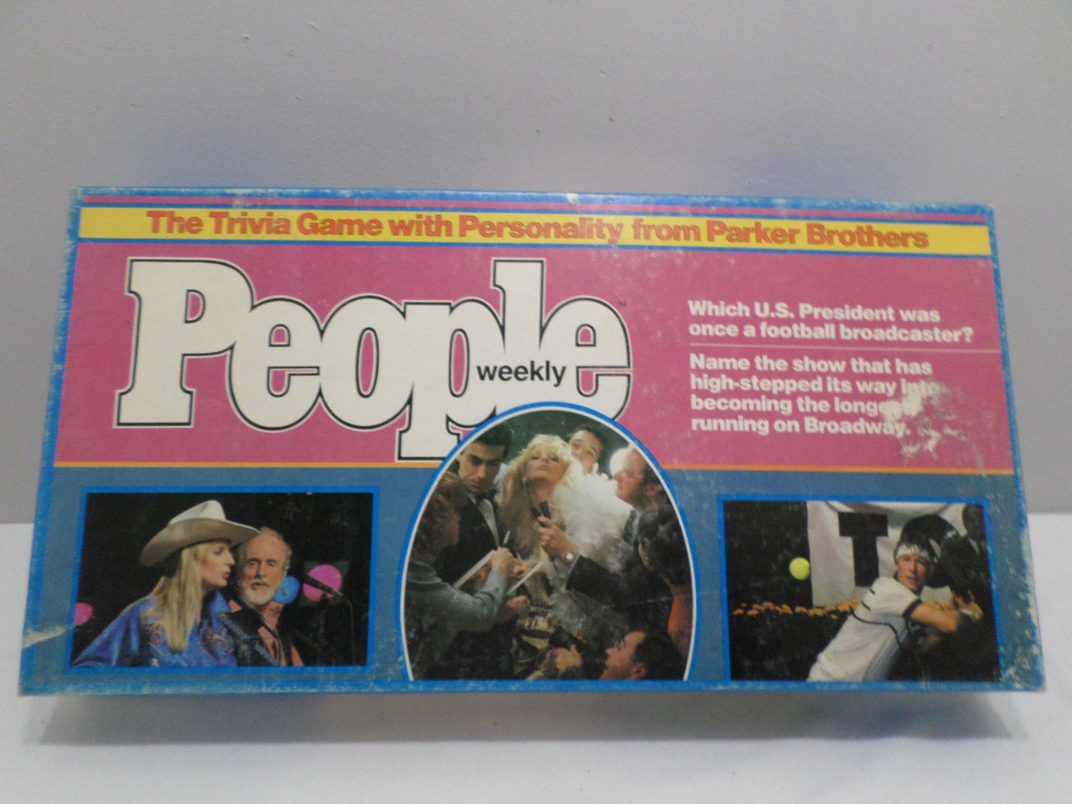 1984 Trivia Game People Weekly by Parker Brothers 2 to 7 Players new
