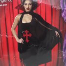 Halloween Costume Queen of Darkness Adult Women size XL by Cinema Secrets