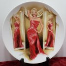 Collector Plate Marilyn Monroe How To Marry A Millionaire Bradford Exchange NOS