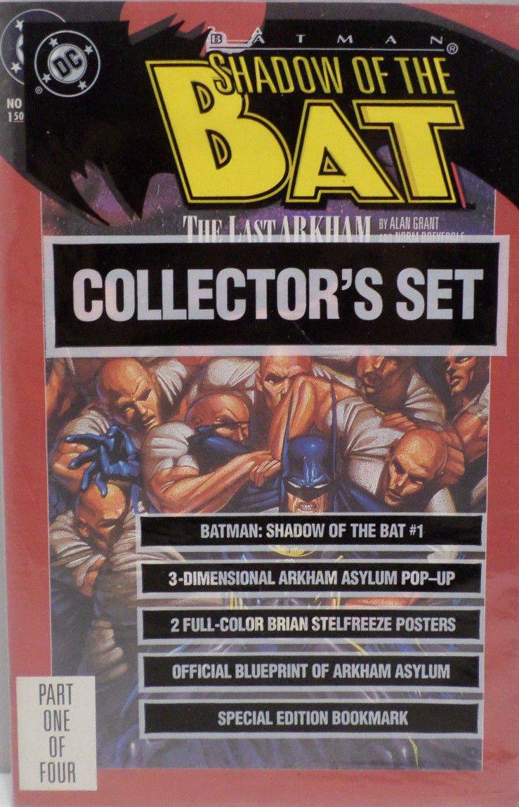 Shadow of the Bat 1992 Collector's Set DC Comics Comic Books NIP