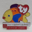 Lapel Pin 2000 Teenie Beanie Babies McDonalds Group