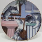 Collector Plate Mischief Makers Country Kitties Series Hamilton