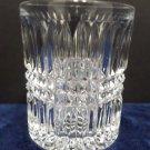 Vintage Liquor Glass Clear Lead Crystal