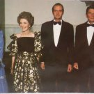 Real Photo Postcard President Reagan Nancy King Juan Carlos Queen Sophia
