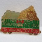 Collector Pin PV Hog Abatement #19 7th annual Toy Run