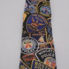 Men's Tie Police Patches from Squad Fitters 1995 by Ralph Marline