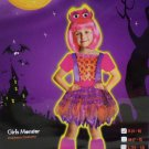 Halloween Costume Monster Girls Size Small (4-6) by Toys R Us