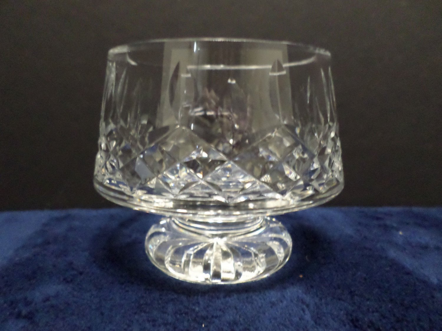 Vintage Crystal Candle Holder Decorative Collectible