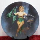 Collector Plate Marilyn Monroe as Cherie in Bus Stop Bradford Exchange NOS