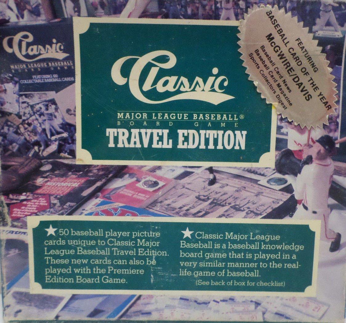 Classic Major League Baseball Board Game Travel Edition  NIB