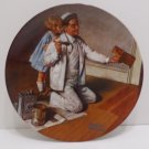 "Collector Plate ""The Painter"" by Norman Rockwell  #F18232 Bradford Exchange"