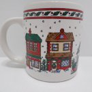 Christmas Collector Mug by KIC Stoneware made in Korea