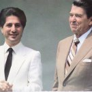 Real Photo Postcard President Ronald Reagan and President Amin Gemayel