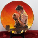 Collector Plate Gone With The Wind Fiery Embrace Bradford Exchange