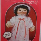 "Soft Sculpture Doll Craft Kit 18"" her Name is Morning Glory"