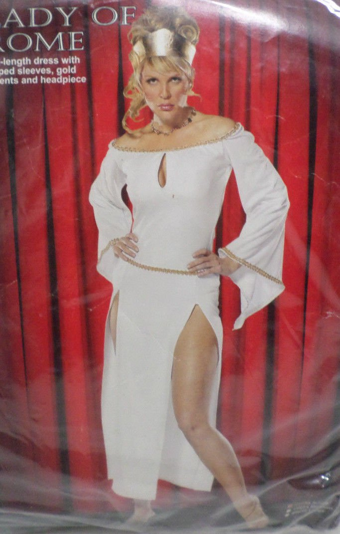 Halloween Costume Lady of Rome Adult size Small by Cinema Secrets