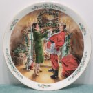 1991 Collector Plate Dad Plays Santa by Royal Doulton made in England