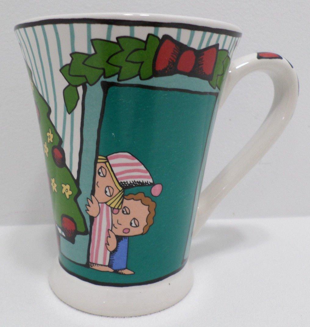 """Ursala""""s Christmas Collector Mug by Signature Ursala Dodge Porcelain China"""