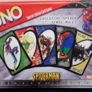 Uno Card Game Spiderman Edition in a Collectible Tin by Marvel