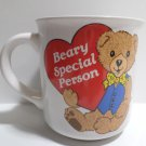 Collector Coffee Mug Cup Beary Special Person Made in Korea