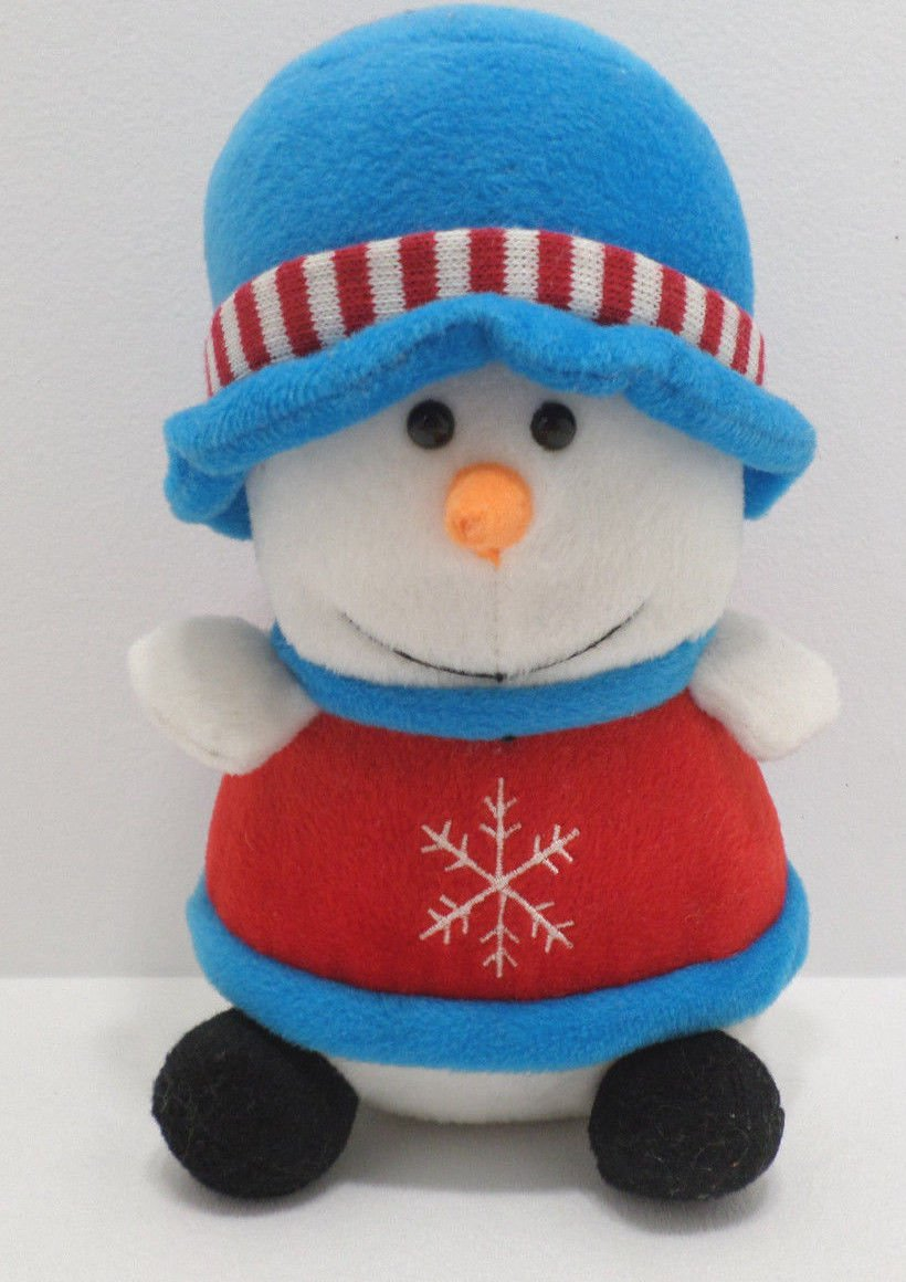 Christmas Snowman Stuffed Animal Toy by Giftco