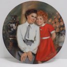 Collector's Plate Annie and Grace by William Chambers 1983 Annie Series