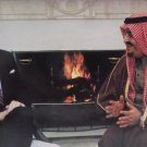 Real Photo Postcard President Ronald Reagan and Saudi Arabia's King Fahd