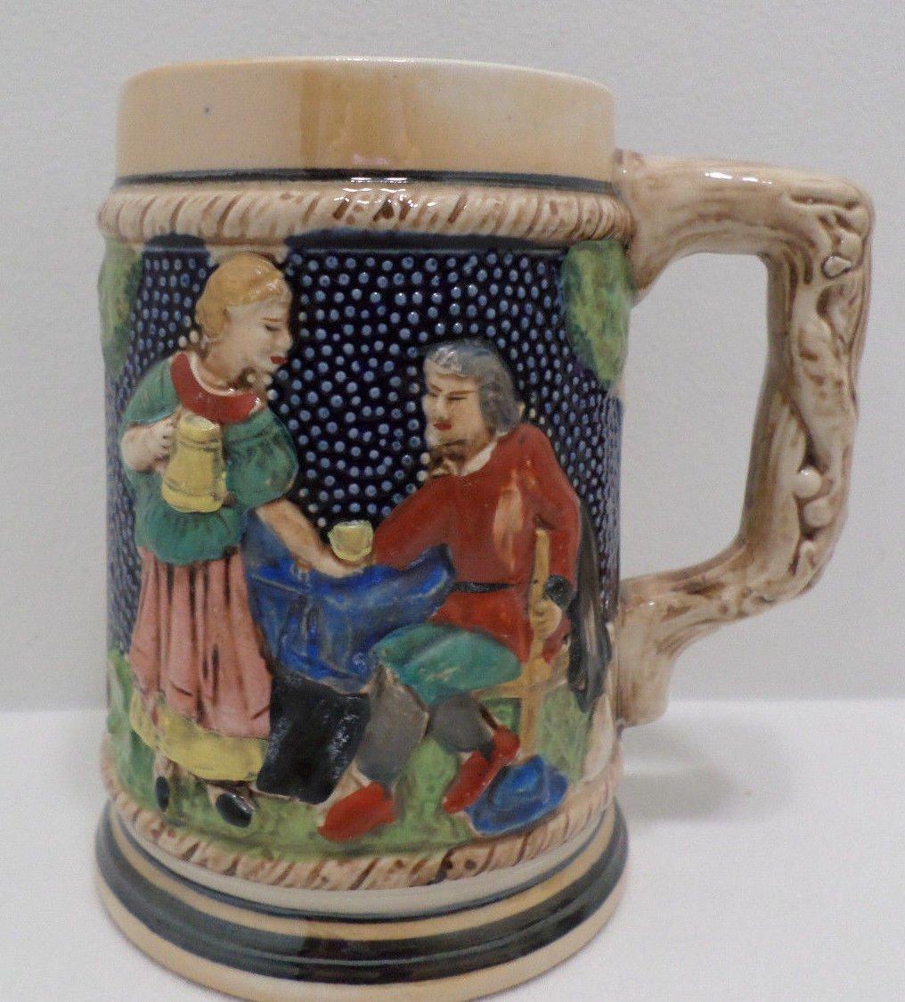 Vintage Beer Mug Ceramic Made in Japan