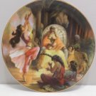 1988 Collector Plate King Solomon by Gary Katz 1 Kings 10:7 Reco International