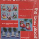 Needlepoint Kit Christmas Ornaments Lace Bells by Mary Maxim New