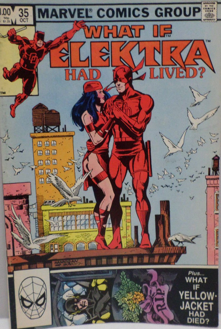 What if Elektra Had Lived October 1982 # 35 Marvel Comics Comic Book