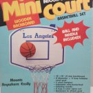 Indoor Outdoor Mini Basket Ball Court Set Game 1970 made in Taiwan