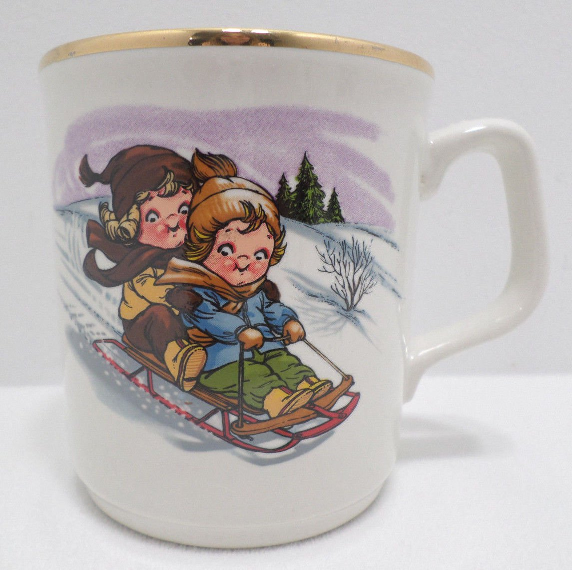 Christmas Collector Mug by the Campbell Kid Collection Kids at Play Ltd. Edition