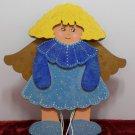 Vintage Puppet Wooden Angel