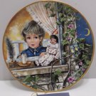 Collector Plate Au Clair De La Lune by Gerda Neubacher by Kaiser West Germany