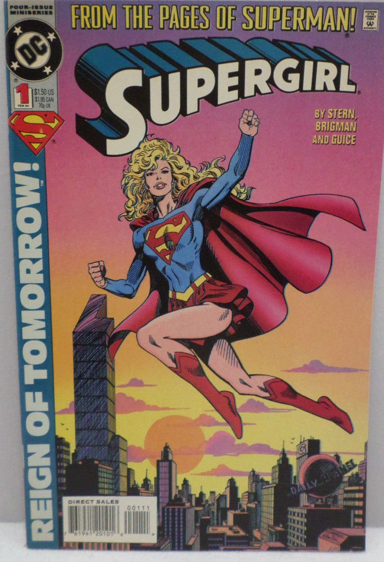 Supergirl Reign of Tomorrow No. 1 February 1994 Comic Book DC Comics