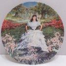 1978 Collector Plate Scarlett by Raymond Kursar Bradford Exchange #14730A