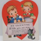 Antique Valentines Day Card made in the U.S.A.