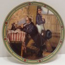 1986 Collector Plate The Musicians Magic by Norman Rockwell Bradford Exchange