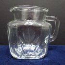 Water Pitcher Anchor Hocking clear glass square