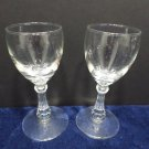 Cocktail Glasses Crystal Set of 2
