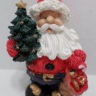 Christmas Figurine Plastic Santa Claus