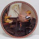 1987 Collector Plate Serious Business by Norman Rockwell #10158B