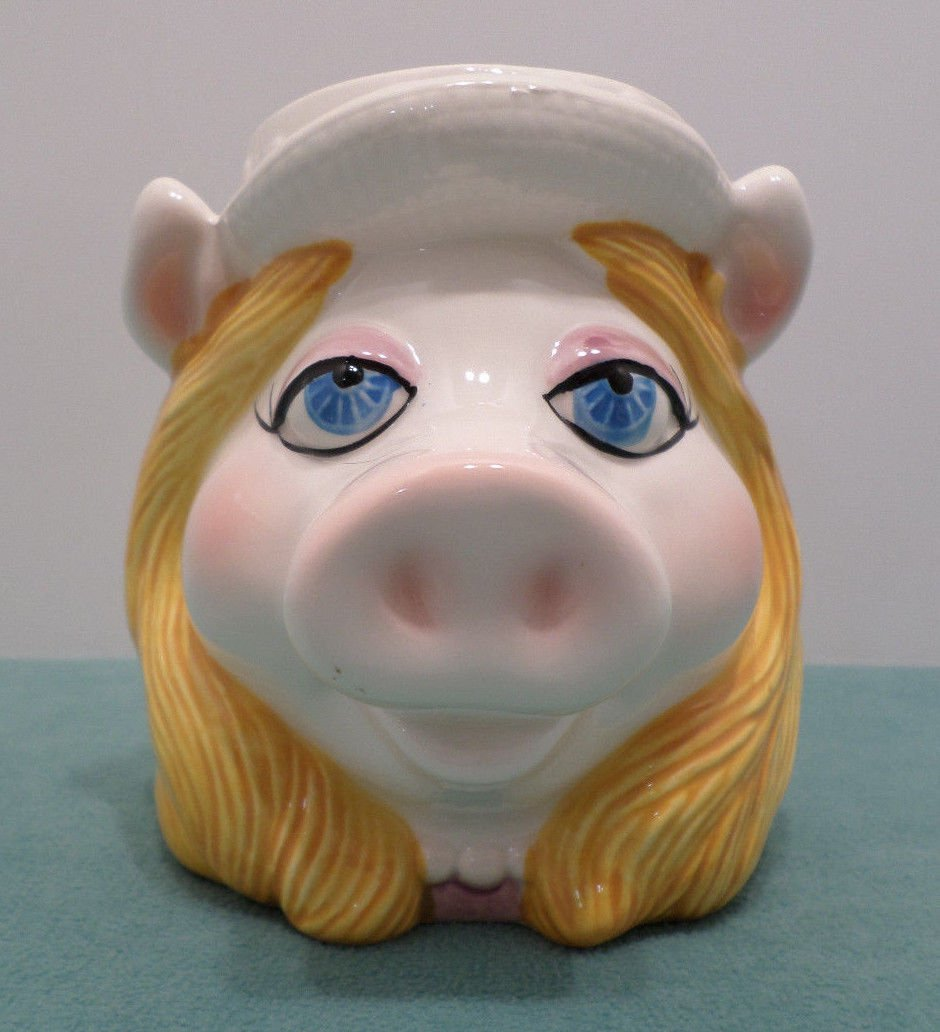 Collector Coffee Mug Cup Miss Piggy Muppets Taste Setters Sigma Ceramic