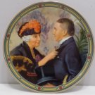 1987 Collector Plate Love's Reward by Norman Rockwell by Knowles